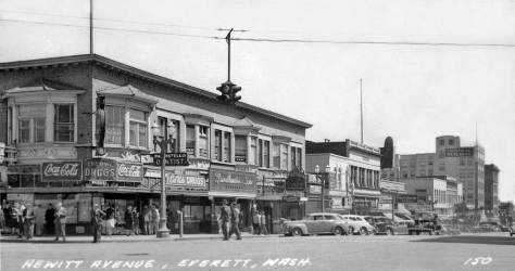 Everett, on Hewitt Ave.