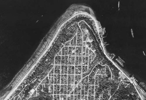 1946 Aerial of West Seattle Admiral Neighborhood web