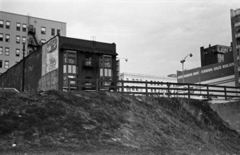 I found among my negatives two more of the Preston and both photographed by me from the west.  For this one I climbed the bank some up from Western Ave.  I date it ca. 1978.