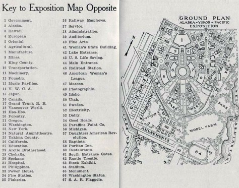 For comparison another and earlier map of the AYP/UW campus.
