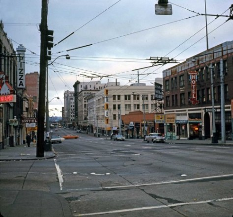 East on Pike thru 7th Ave., Sunday Sept. 21, 1969.  (Frank Shaw)