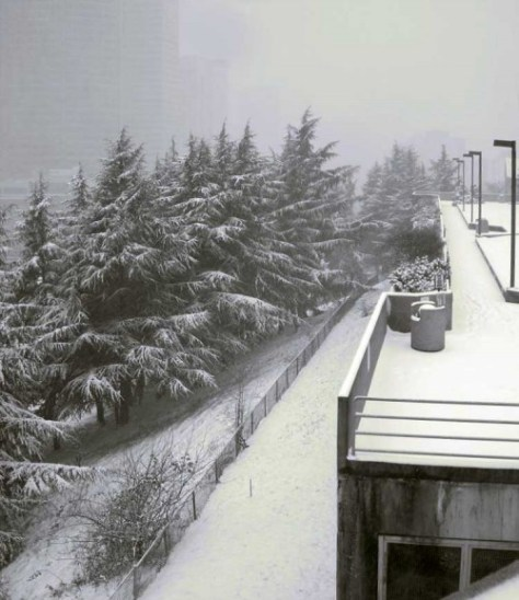 Another of Lundgren's recordings of Snow Falling on Goat Hill - here AKA Pill Hill, Yesler Hill, Profanity Hill and First Hill.
