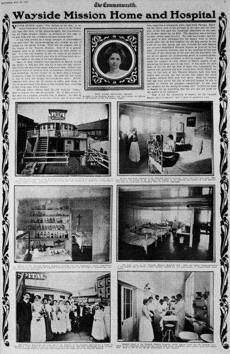 A page from the COMMENWEALTH, MAY 23, 1903