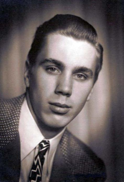 VICTOR as a teen - or nearly - ca. 1950.