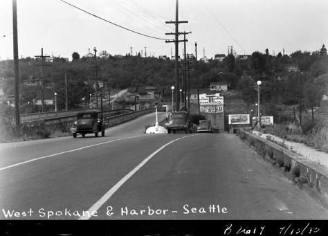 8.-FK-W.-Spokane-St.-(approaching)-Harbor-Ave.--B-2619--Sept-13,-1940-WEB
