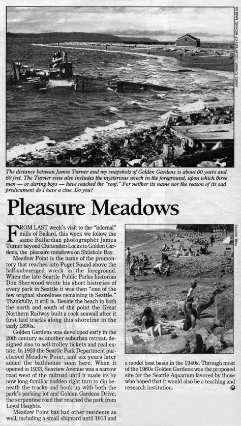 """""""Pleasure Meadows"""" as it appeared in The Times."""