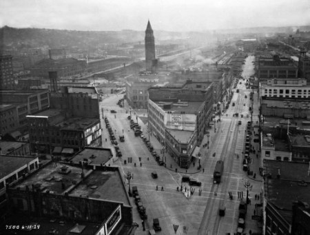Fourteen months later, June 11, 1929.  (Courtesy, Seattle Municipal Archive)
