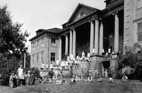 Seattle Children's Home on Queen Anne Hill.
