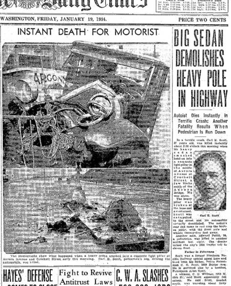 Some of The Seattle Time Jan. 19, 1934 coverage of
