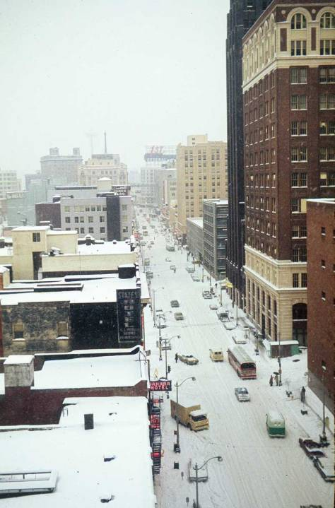 The fine snow of December 31, 1968.  I remember it - a walk with about four others from the Helix Office north across the snowbound University Bridge to one or another coffee shop in the district.  I had an uncanny talent that day for hitting my targets with the snowballs I threw.  Honest.