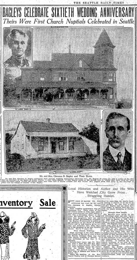 A clipping from The Times for Dec. 27, 1925.  CLICK AND CLICK to Englare