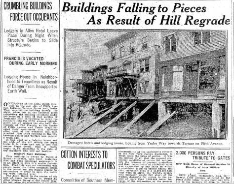 Times clip from August 23, 1911.