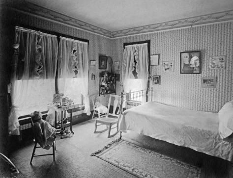 Above and Below: Children's bedrooms.