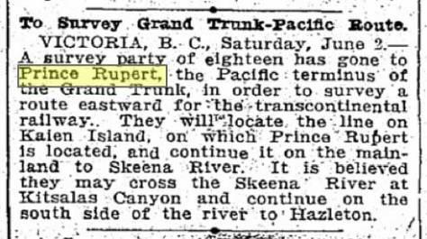 Seattle Times clip, June 3, 1906
