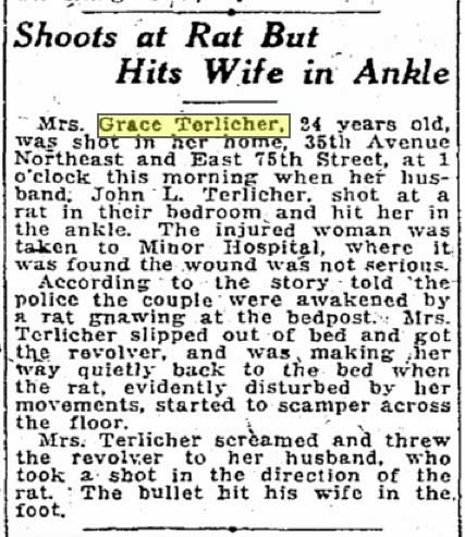 A Seattle Times clip from July 8, 1921.