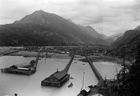 The harbor that we noted in the video as unidentified. Now Robin has pegged it. It is Skagway, and the LaRoche that follows is of Skagway's Broadway. Skagway, I believe, is where you caught the train but now a bus or rent a car..