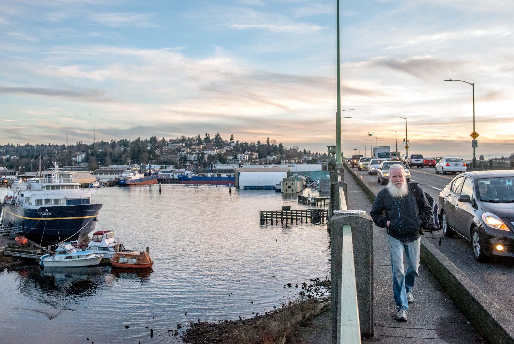 Seattle Now & Then: Ballard's Bascule Bridge