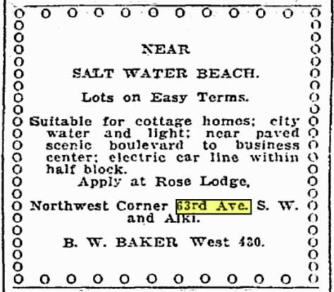 By 1918 Baker was ready to sell lots. The struggles of running a still remote and somewhat minimal attraction may have managed electrical storms but not familial ones. They got a divorce.