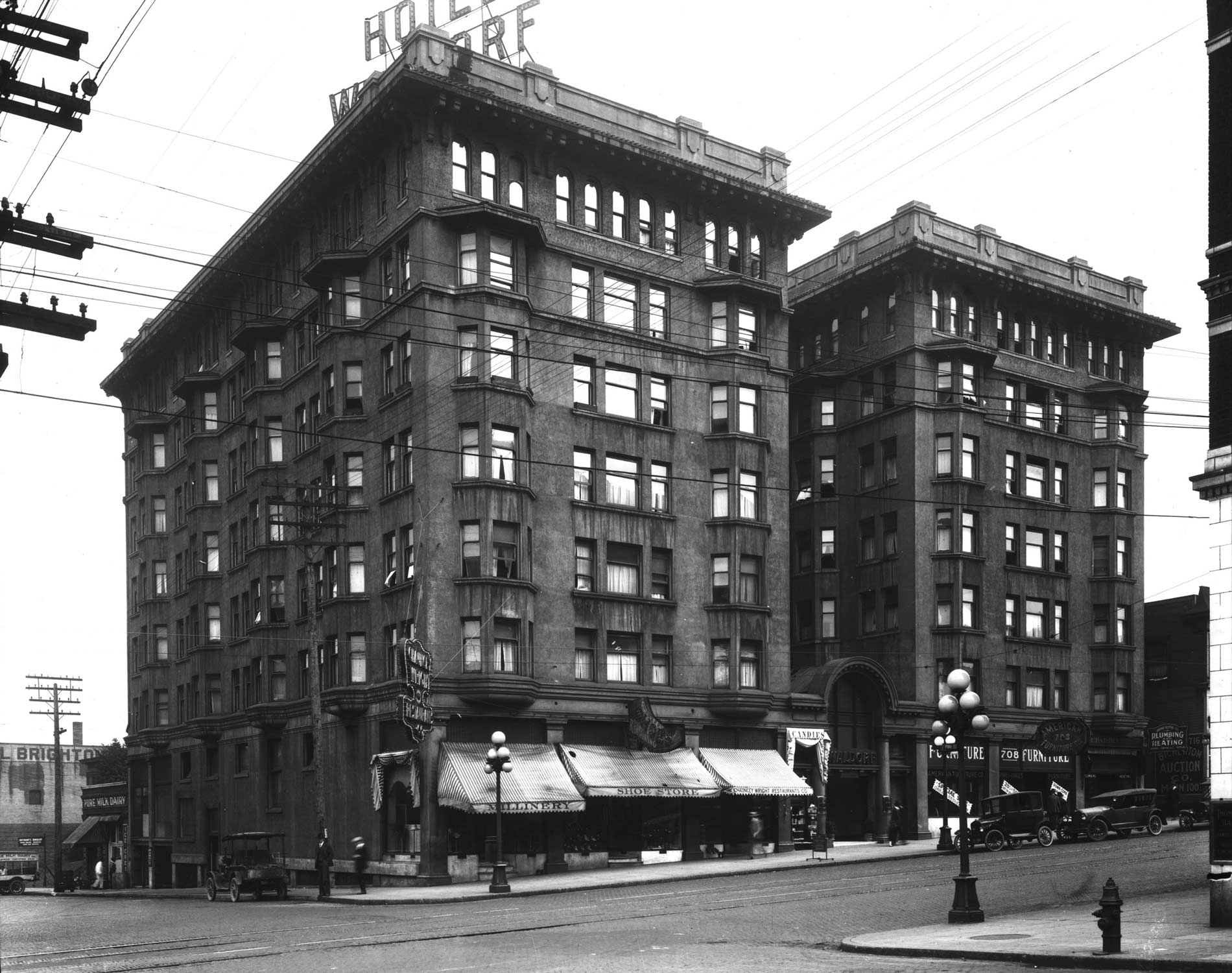 THEN: Encouraged By The Rapid Growth Of Seattleu0027s Business And Retail  Districts To The North, The Waldorf, Then The Biggest Apartment House In  Town, ...