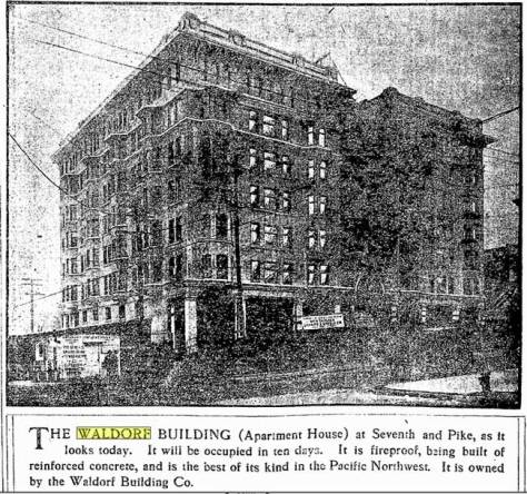 A clip from The Seattle Times for Nov. 25, 1906.