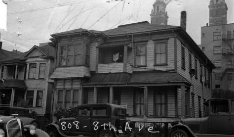 808 8th Avenue, another 1937 tax photo.