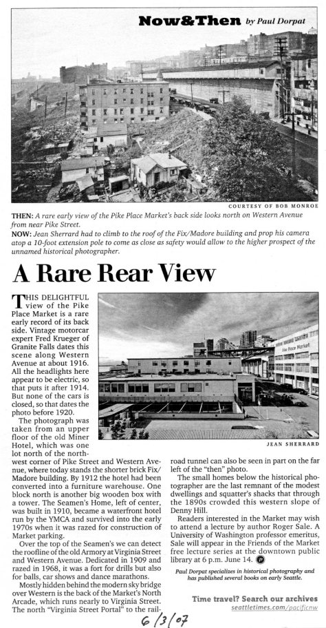 First appeared in The Times, June 3, 2007.