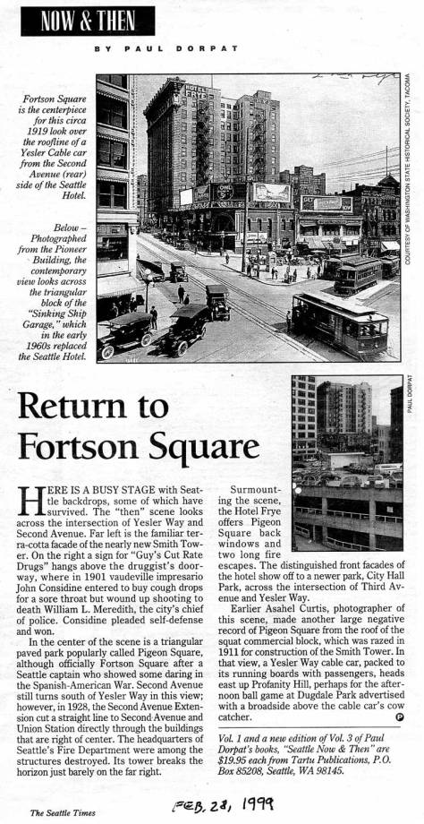 First appeared in the Times, Feb. 28, 1999.