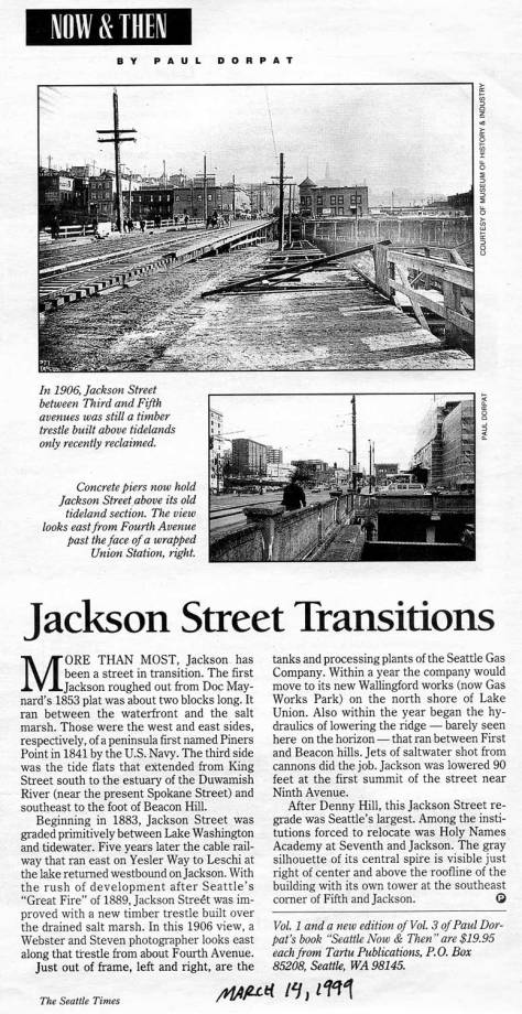 First appeared in The Times, March 14, 1999