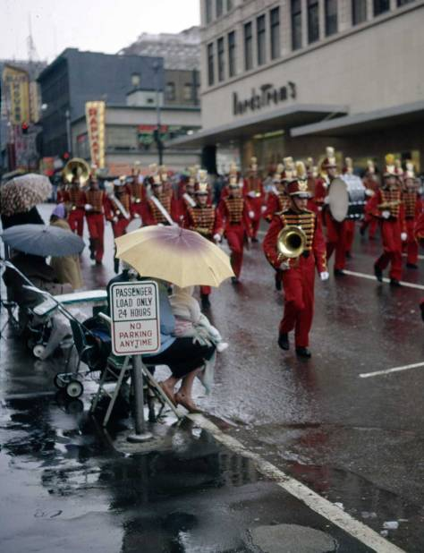 Frank Shaw's record of the Santa Claus parade for November 19, 1960.