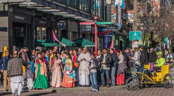 Market People on Parade
