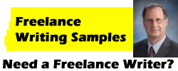 Need a freelance writer?