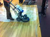 Gym Floor Cleaning