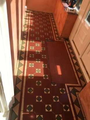 Victorian tile sealing