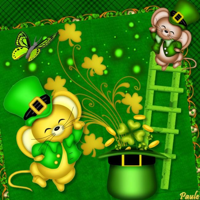 Bonne fête aux Patrick, Pat, Patricia, Patrice, etc.... (5/6)