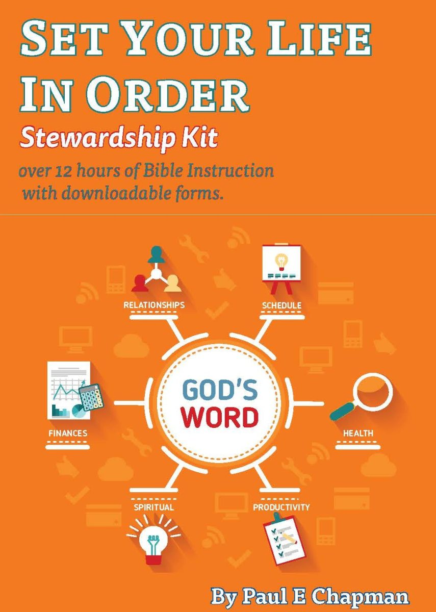 Set Your Life In Order Stewardship Kit Offer