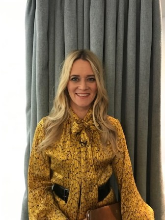 Edith Bowman, Hair by Alfie, Assisted by Lizzie
