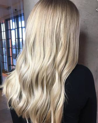 Buttercream blonde by Julie