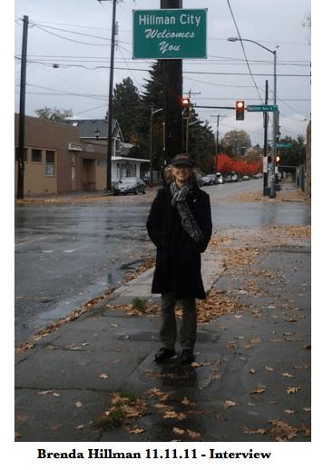 Brenda Hillman in Hillman City