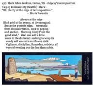 437. Mark Allen Jenkins, Dallas, TX - Edge of Decomposition