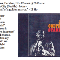 460. Jovan Mrvos, Decatur, IN - Church of Coltrane