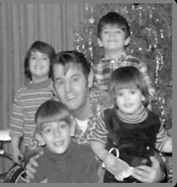 Barbara, Paul Jr. Paul Sr. Andrew and Linda Nelson 1968?