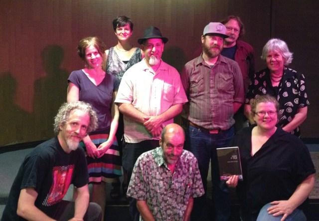 Bottom Row L to R: C.E. Putnam, Jimbo beckman, Jen Coleman. Upper: Endi Bogue Hartigan, Allison Cobb, Paul Nelson, Jared Hayes, James Grabill and Marilyn Stablein