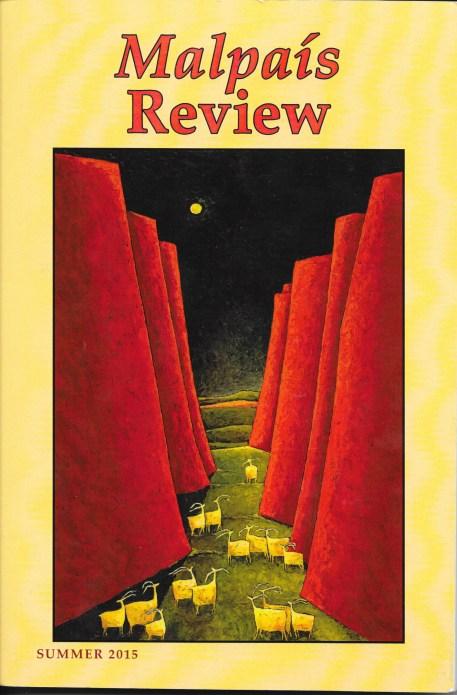 Malpais Review Cover Summer 2015