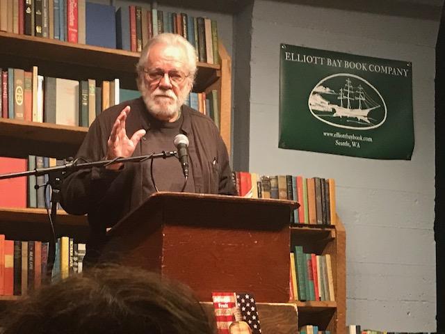 Bill Mawhinney at Elliott Bay Books, November 17, 2019