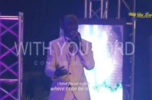 With you Lord by Pastor Paul Enenche