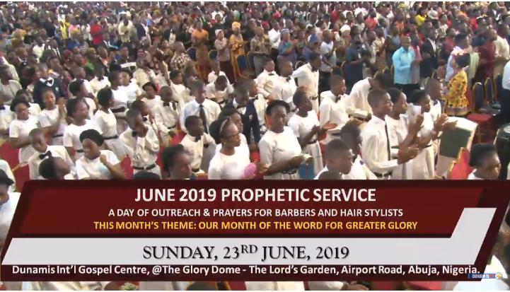 PROPHETIC SERVICE 23rd June 2019