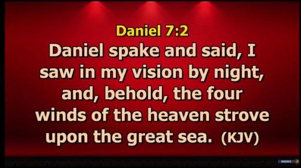 Daniel 7 verse 2