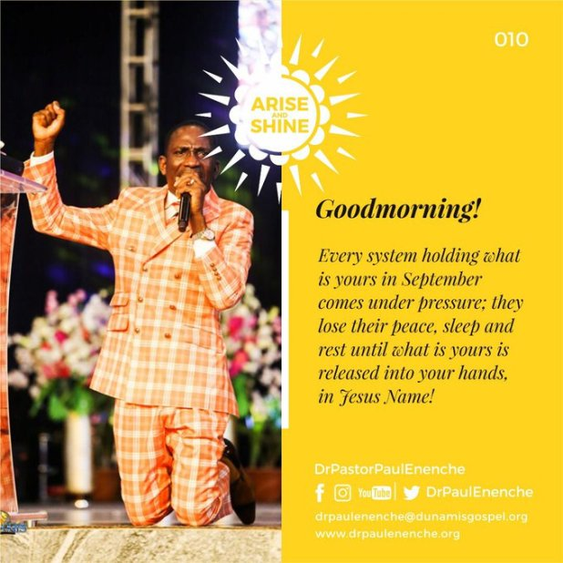 Arise And Shine Dr Pastor Paul Enenche