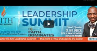 leadership summit 2019 Paul Enenche