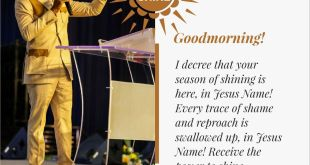 SEEDS OF DESTINY 6TH JANUARY 2020 - YOUR GIFT – YOUR VEHICLE TO THE TOP